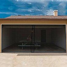 Pure Garten Zwei Auto Garage Tür Bildschirm