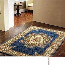 pure handgefertigte Teppiche/ Wohnzimmer-Teppich/ Sofa Schlafzimmer Teppich/European-Style Teppich-L 160x230cm(63x91inch)