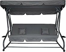 Pure Home & Garden 4-Sitzer XXL Hollywoodschaukel
