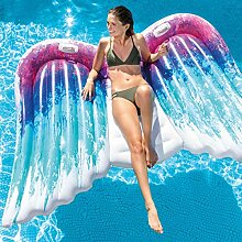 Pureday Aufblasbare Badeinsel Engelsflügel