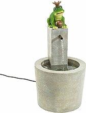 PureDay Brunnen Froschkönig