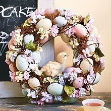 PureDay Dekokranz Sweet Pastell - Türkranz mit