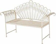 Pureday Gartenbank - 2-Sitzer Sitzbank - Vintage