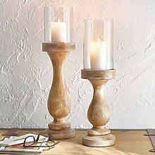 Pureday Kerzenständer Uma - Gedrechselter