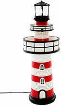 Pureday LED-Brunnen Leuchtturm - Polyresin