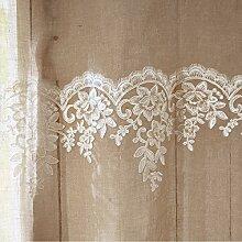 PureDay Leinen-Vorhang Florentine - mit
