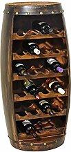 Pureday miaVILLA Flaschenregal Weinfass -