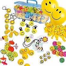 Pureday Super Spiele-Set Smile, 151-tlg.