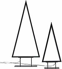 Pureday Weihnachtsdeko - LED Tannenbaum 2er Set -