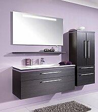 Puris Cool Line Badmöbel Set / Waschtisch / Unterschrank / Flächenspiegel