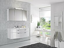 Puris Speed Badmöbel Set / Waschtisch / Unterschrank / Spiegelschrank