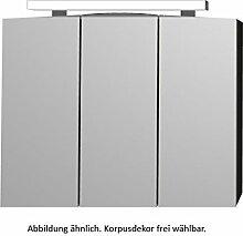 PURIS Speed Spiegelschrank Serie 1 / S2A438038 / Premium / B: 80 cm