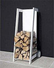 Purline Schublade Porta Brennholz efp24weiß