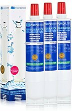 Purofilter Wasserfilter für Side by Side Kühlschränke - 53-WF-01PF (3er Pack)