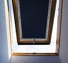 Purovi Thermo Sonnenschutz für Dachfenster | Hitzeschutz für Innen | Ohne Bohren Ohne kleben | Große Auswahl für Velux + Roto Fenster | Ausgewählte Größe: Velux S08 und 608 – 96 x 115cm