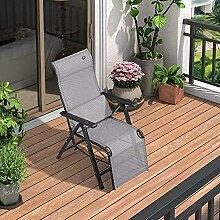 PURPLE LEAF Outdoor Zero Gravity Relaxsessel für