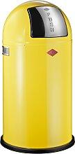 Pushboy - 50 Liter - Mülleimer - Lemonyellow