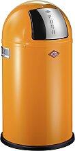 Pushboy - 50 Liter - Mülleimer - Orange