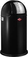 Pushboy - 50 Liter - Mülleimer - Schwarz