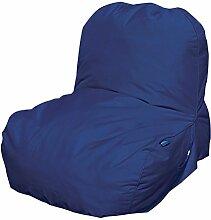 Pusher Pop Sessel aufblasbar, Nylon, blau, 81x