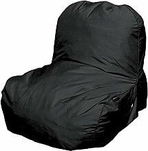 Pusher Pop Sessel aufblasbar, Nylon, schwarz,