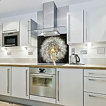 Pusteblume – Bedrucktes Glas für die Küche
