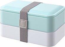 PuTwo Brotdose, Bento Box mit Besteckset