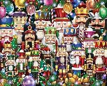 Puzzle 1000 Stück Holzpuzzle Puzzle Multicolor