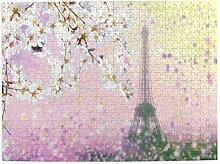 Puzzle 500 Stück, Luftbild des Pariser