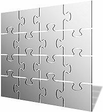 Puzzle Acryl Spiegel, acryl, 500 x 500mm