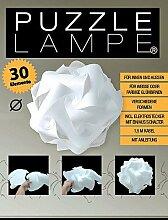 Puzzle Lampe 18,5 cm, 15 Ausführungen,