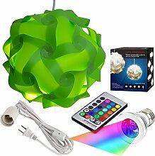 Puzzle Leuchten Kit, moderne Puzzle Lampe mit