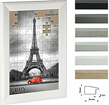 Puzzlerahmen PRIO 34x48cm Weiß (matt) für ca.