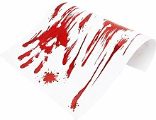 PVC 15Pcs blutiges Muster leicht zu entfernen
