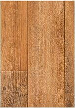 PVC Boden Bodenbelag Auslegware CV Vinyl Belag Dielen Optik Vinylboden Holzdielen Eiche 300 x 200 cm