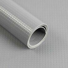 PVC-Bodenbelag Big Diamond Schwarz Breite: 120 cm,
