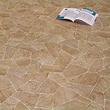PVC Bodenbelag Bruchstein 2,00 mm (Breite: 200 cm