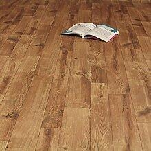 PVC Bodenbelag Holz Eiche mit Furchen und Rissen