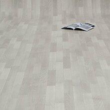 PVC Bodenbelag Holz Planken Weiss Gekalkt (11,90
