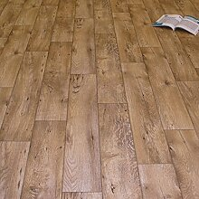PVC Bodenbelag Holz Rustikal Natur (Breite: 200 cm
