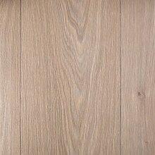 PVC Bodenbelag Holzoptik Auslegware 2,6 mm Dicke Stabparkett Weiss 450 x 400 cm. Weitere Farben und Größen verfügbar