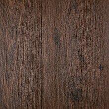 PVC Bodenbelag Holzoptik Auslegware 2,6 mm Dicke Stabparkett Dunkelbraun 450 x 400 cm. Weitere Farben und Größen verfügbar