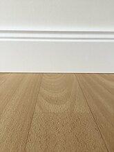 PVC-Bodenbelag Holzoptik Beige | Vinylboden in 4m Breite & 5m Länge | Fußbodenheizung geeignet | PVC Planken strapazierfähig & pflegeleicht | Fußboden-Belag für Gewerbe und Wohnbereich