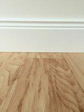 PVC-Bodenbelag in mediterraner Holzoptik Hell | Strukturierte Oberfläche | Vinylboden in 4m Breite & 5m Länge | Fußbodenheizung geeignet | pflegeleichte Planken für den Wohnbereich | Made in Germany