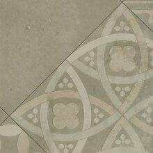 PVC Bodenbelag Vintage Fliese Beige | Vinylboden