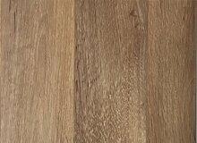 PVC-Bodenbelag XL Holzdielenoptik Braun Strukturiert | Vinylboden in 2m Breite & 2m Länge| Fußbodenheizung geeignet | Rutschhemmende PVC Planken | Stark strapazierfähiger Fußboden-Belag | Made in Germany