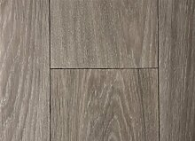 PVC-Bodenbelag XL Holzdielenoptik Rustikal Altholz | Vinylboden in 2m Breite & 1,5m Länge | Fußbodenheizung geeignet | Rutschhemmende PVC Planken | Stark strapazierfähiger Fußboden-Belag | Made in Germany