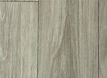 PVC-Bodenbelag XL Holzdielenoptik Rustikal Grau | Vinylboden in 2m Breite & 1m Länge | Fußbodenheizung geeignet | Pflegeleichte & rutschhemmende PVC Planken | Stark strapazierfähiger Fußboden-Belag | Made in Germany