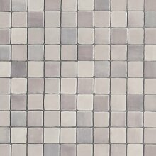 PVC CV Vinyl Bodenbelag Auslegware Fliesenoptik Mosaik grau 200, 300 und 400 cm breit, verschiedene Längen, Variante: 12 x 3 m