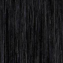 PVC CV Vinyl Bodenbelag Auslegware Holzoptik Hochglanz schwarz 200, 300 und 400 cm breit, verschiedene Längen, Variante: 7 x 2 m